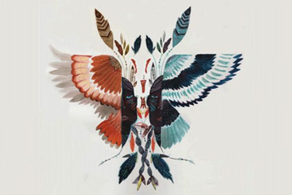 Foto el aguila y el halcon