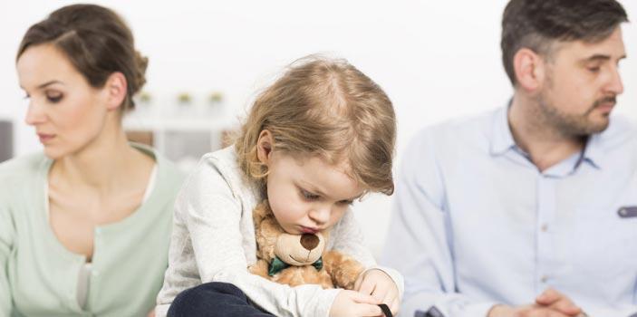 Los hijos frente al divorcio