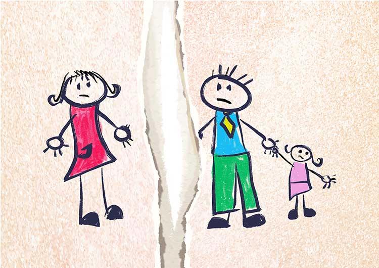 Como proteger a los hijos durante un divorcio